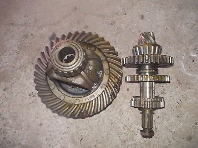 Allis Chalmers G Tractor Ac Transmission Ring Pinion Drive Gear Set Gears