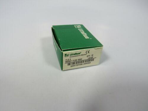 (10 NEW) Littelfuse FLQ-6 ( FLQ 6A ) 6 Amp 500Vac Time Delay Fuse