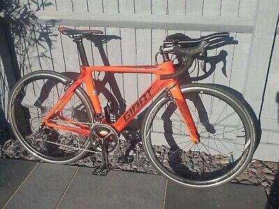 Giant Propel Advanced 2 XS Road Bike with aerobars.