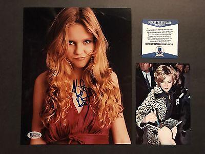 Kirsten Dunst Rare  Autographed Signed 8X10 Photo Beckett Bas Cert Proof