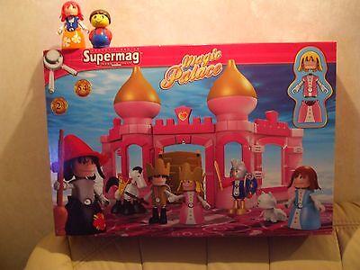 Supermag Schloss Palast MAGIC PALACE 54 Teile ab 2 Jahre NEU / OVP
