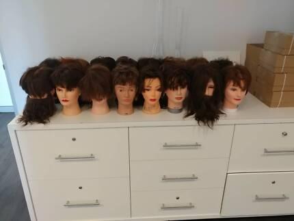 Salon Hairdressing Training Head Practice Head Mannequin Doll Mod