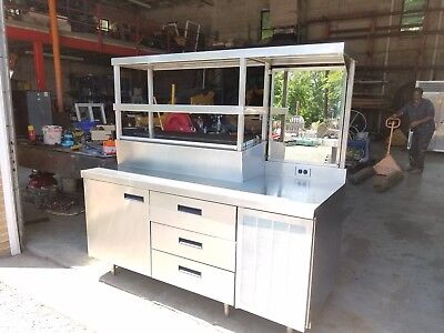 Delfield Custom Refrigerated Prep Table - Priced To Sell