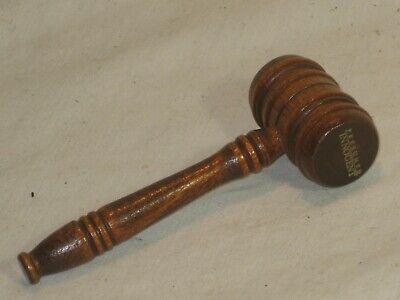 """1 small 3.75"""" wooden gavel wood judge hammer """" Presumed Innocent """""""