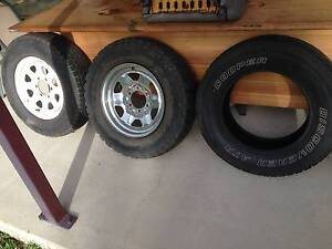 2 x 16inch rims suit rodeo, hilux or trailer Kelso Townsville Surrounds Preview