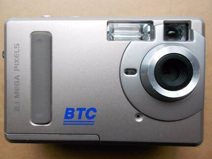 BTC Digital Camera  2.1 Mega Pixels Model: DSC 2200V