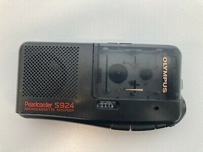 Olympus Pearlcorder S924 Microcassette Recorder