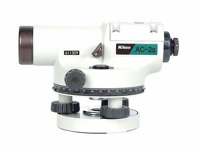 Nikon Ac-2s Auto Level 24x Optical Transit Survey Magnetic Dampened Autolevel