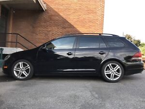 2012 vw Volkswagen Golf familial wagon