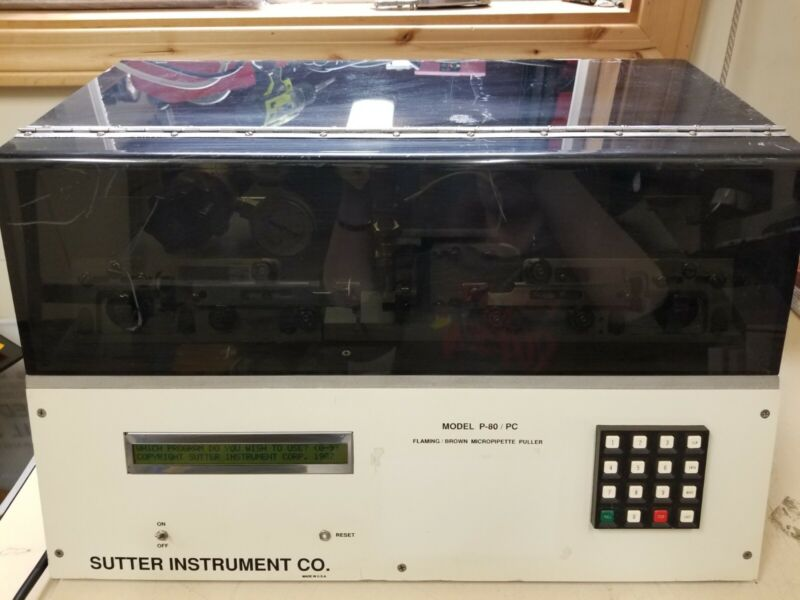 Sutter Instrument Co. Flaming/Brown Micropipette Puller P-80/PC
