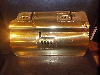 National Cash Register ORIGINAL Brass Dust Cover Model 33 NCR