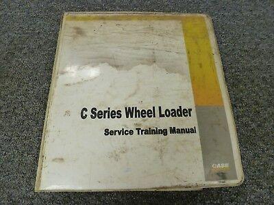 Case 621c 721c 821c Series C Wheel Loader Shop Service Repair Training Manual