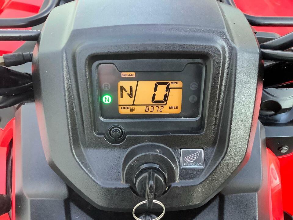 2018 HONDA TRX420 FM MANUAL FOURTRAX 4x4 QUAD BIKE ATV FOUR WHEEL