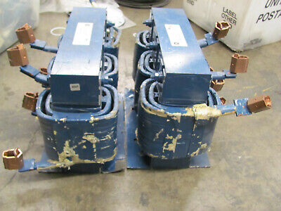 Lot Of 2 General Electric Reactors 37g13003 3-phase 600v130a 5060hz Used