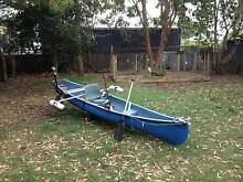 Canoe with electric motor for sale Swansea Lake Macquarie Area Preview