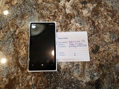 Nokia Lumia 920 -- White -- Working -- Listing#1