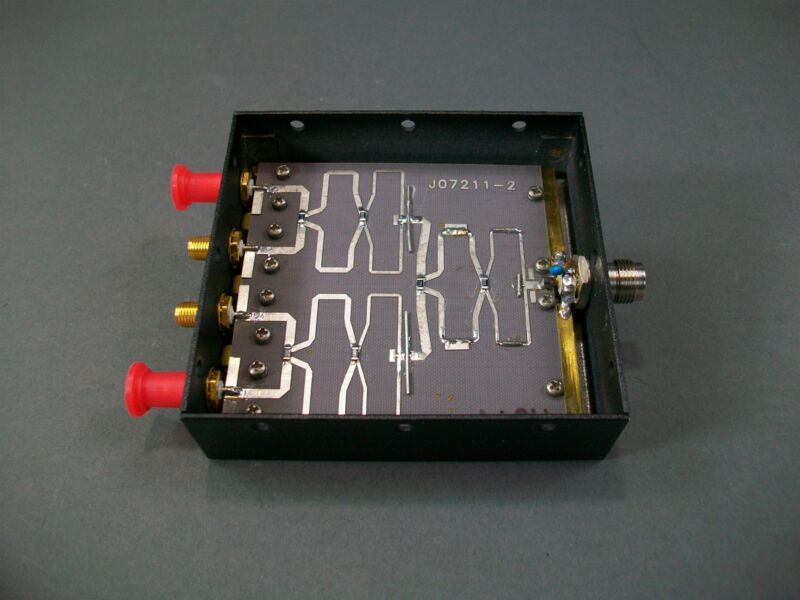 Celwave PD8814E TNC in to SMA 4-way Power Splitter 1453-1477 MHz