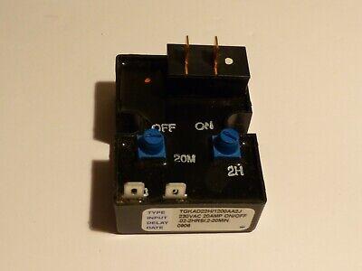 Airotronics Tgkad22h1200aa2j Cube Relay Timer 230 Vac. 20amp