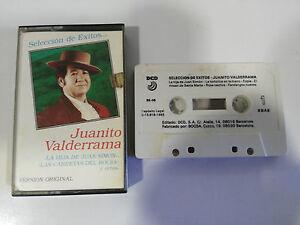 JUANITO-VALDERRAMA-SELECCION-DE-EXITOS-CINTA-TAPE-CASSETTE-1985-DCD-SPAIN-ED