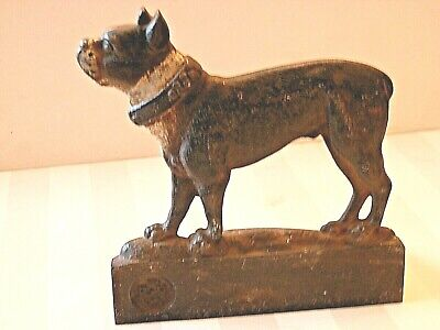 One Bradley and Hubbard Cast Iron Boston Terrier BOOK END