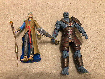 Marvel legends Hasbro 80th Anniversary (Thor) Grandmaster And Korg 2 Pack Loose