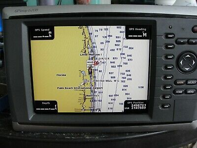 Garmin 6208 GPS Chartplotter