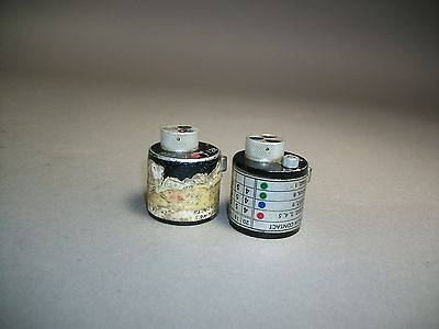 Lot Of 2 Daniels Dmc Turret Head Positioner N90 N25