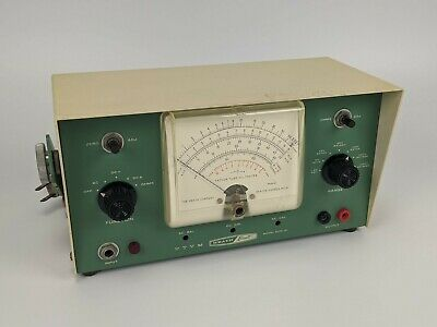 Heath Built Euw-24 Vacuum Tube Voltmeter - Vtvm Weston Usa Vintage