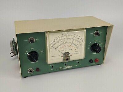 Heath Built Euw-24 Vacuum Tube Voltmeter - Vtvm Weston Usa Vintage