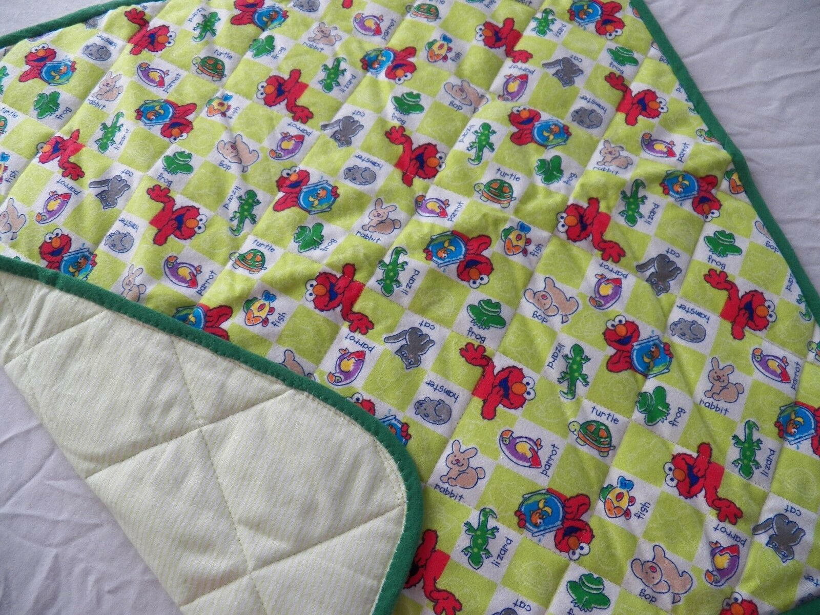BABY CHANGING PAD Portable Diaper Travel Mat Cotton Washable Padded Handmade NEW 30