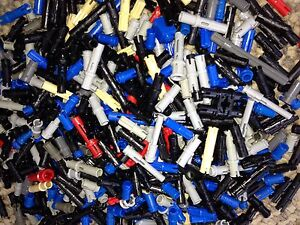 ... of 500 Lego Pins Pegs and Clips Great Mix Technic Legos lb Push | eBay