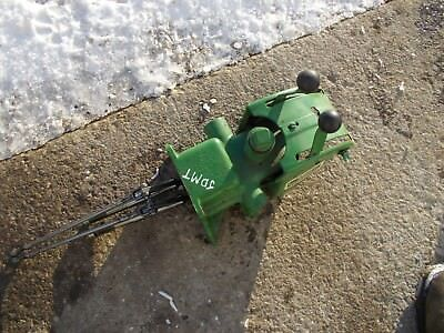 John Deere Mt Tractor Jd Rear Hitch Hydraulic Lift Assembly Valve Box Levers