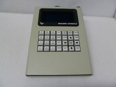 LEP MAC2000 Console for CASSETTE WAFER LOADER for sale  USA