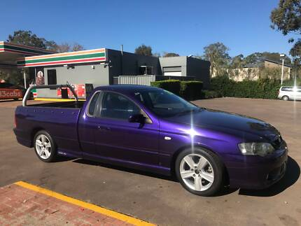 2003 Ford Falcon XR6 TURBO Ute - Auto - RWC - Driveaway Birkdale Redland Area Preview