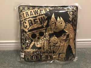 One Piece Film: Gold - 2016 Black and Gold cushion Japan