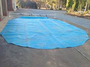 Pool cover (solar) + roller Macdonald Park Playford Area Preview