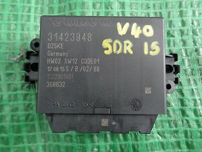 VOLVO V40 D2 2015 PDC PARKING SENSOR CONTROL MODULE 31423948 for sale  Shipping to Ireland