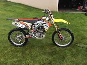 2013 RMZ 250 Fuel Injected