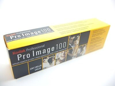 5x KODAK PRO IMAGE 100 35mm 36Exp CHEAP PRO COLOUR FILM By 1st CLASS ROYAL MAIL