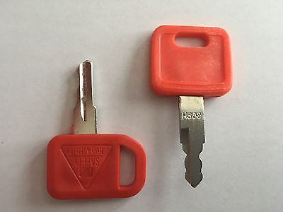 6 John Deere Jd Heavy Equipment Ignition Excavator Loader Dozer Keys - New