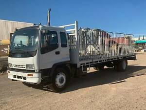 Isuzu FVR950 Tray Truck with Gates Campbellfield Hume Area Preview