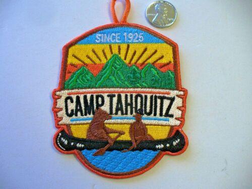 Camp Tahquitz Patch Long Beach Area Council California Bear Canoe SINCE 1925