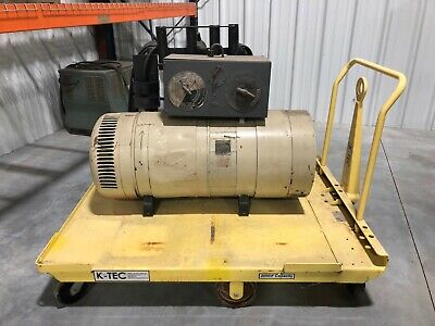 Lincoln 220v 3 Phase Arc Welder W Cart