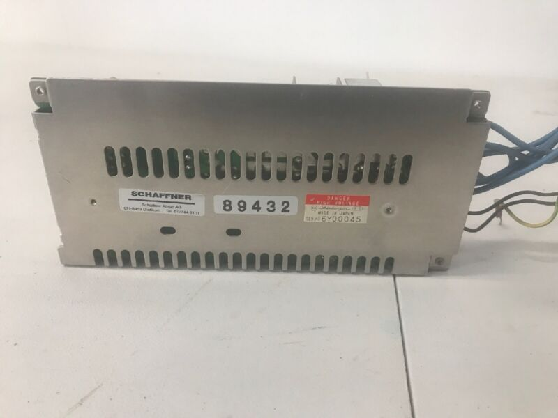 charmilles edm Power Supply Schaffner Altrac 1