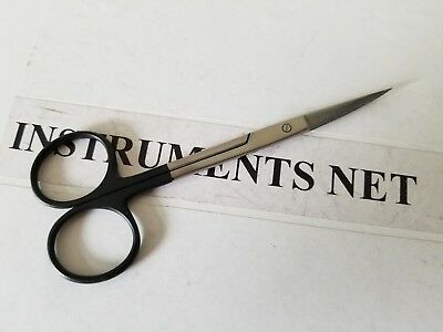 2 Supercut Iris Scissors 4.5 Curved Straight Surgical Dental Brand New