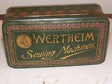 RARE C1900 WERTHEIM SEWING MACHINE ACCESSORIES BOX Morphett Vale Morphett Vale Area Preview