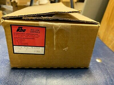Red Lion Controls Aplcl400 Current Loop Panel Meter Brand New Open Box