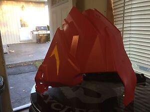 Axys pro chassis red nose pan