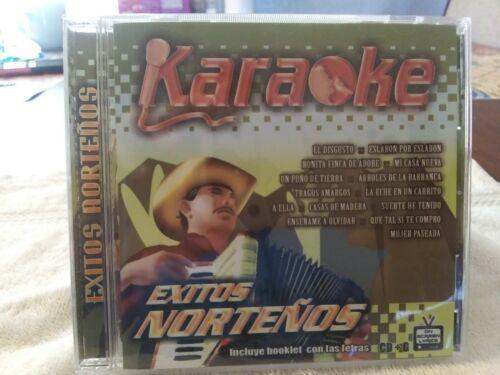 EXITOS   NORTENOS   KARAOKE   CD + G    VARIOUS  GROUPS    2008   ON  SCREEN  LY