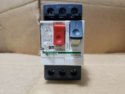 Schneider electric GV2 ME14 GV2ME14 Square D Motor Starter NEW open box